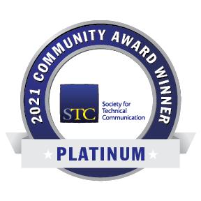 STC Community Achievement Award badge