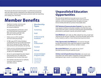 STC member benefits for 2020